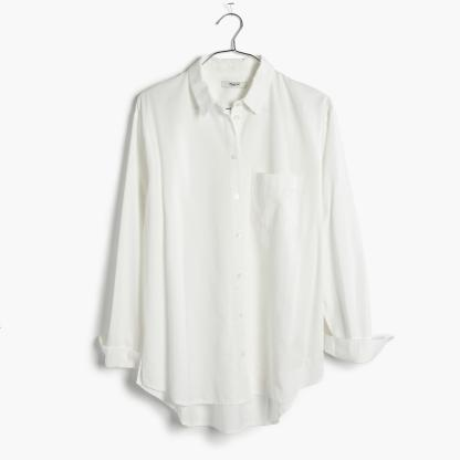 Classic drapey oversized button down from Madewell