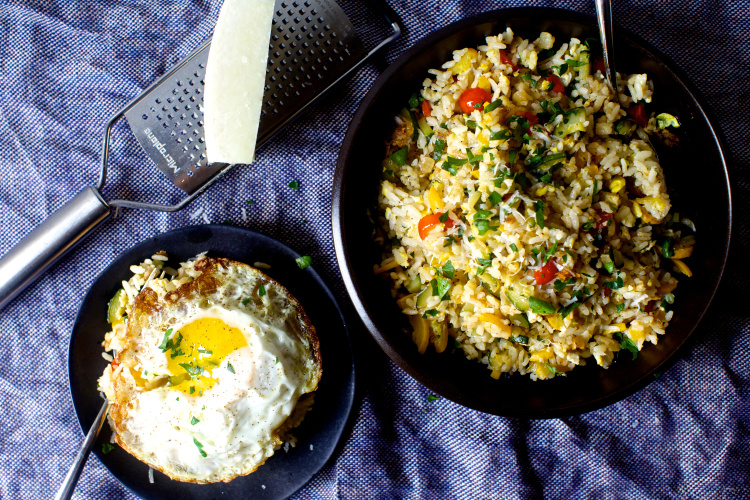 fried-rice-with-zucchini-tomatoes-parmesan