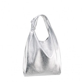 Silver knot tote from Loeffler Randall