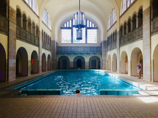 Hotel Pool @ Hotel Oderberger