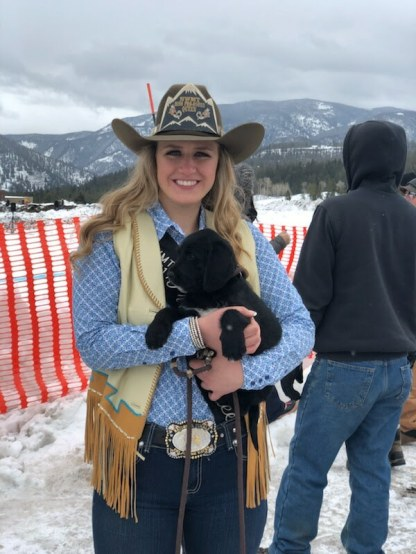 Kayla Seaman, Northwest Montana Miss Pro Rodeo Queen
