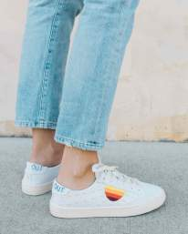 Lockhart Embroidered Sun Sneaker