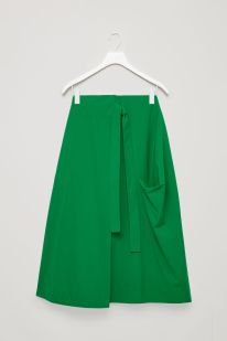 A-Line-Wrap Over Skirt
