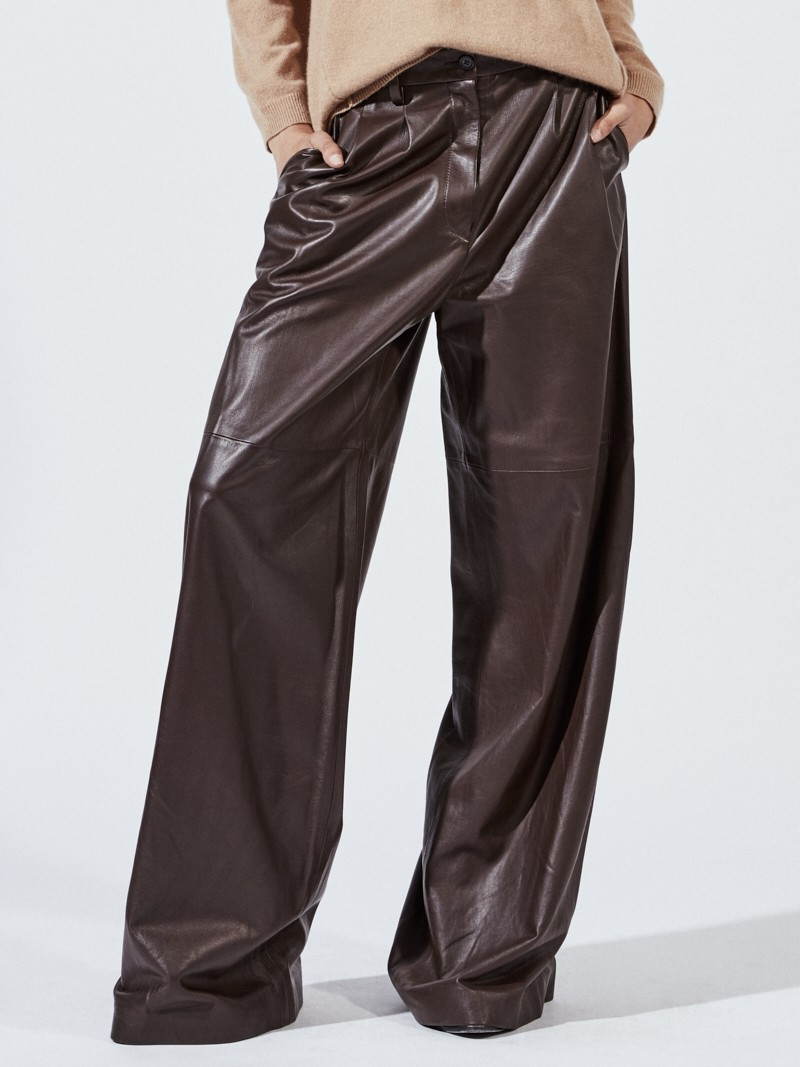 Nico Lambskin Leather Pant