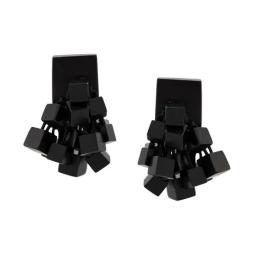 Clip-On Cube Earrings